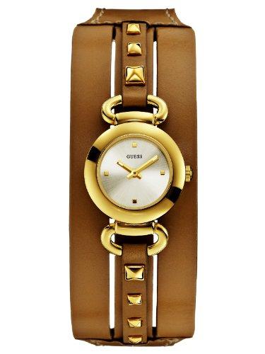 Guess Punky W0160L4 goldene mit braunem Fashion Armband