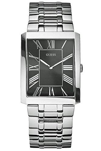 Herren Armbanduhr Edelstahl GUESS mod Slim W85032G2