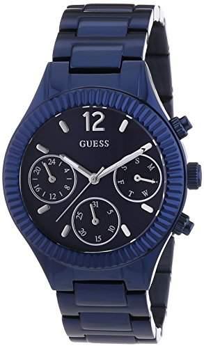Guess Damen-Armbanduhr Chronograph Quarz Edelstahl beschichtet W0323L4