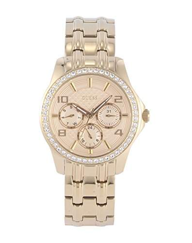 Guess Damen-Armbanduhr Chronograph Quarz Edelstahl W0403L2