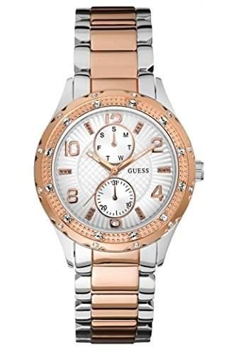 Guess Damen-Armbanduhr Chronograph Quarz Edelstahl W0442L4