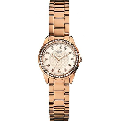 Guess Watches Ladies Desire Rose Gold Sport Analog Watch