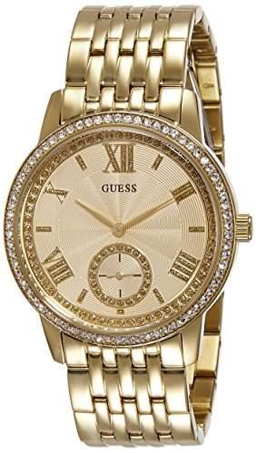 Guess Damen-Armbanduhr Chronograph Quarz Edelstahl W0573L2