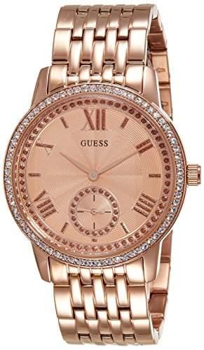 Guess Damen-Armbanduhr Chronograph Quarz Edelstahl W0573L3