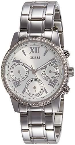 Guess Damen-Armbanduhr Chronograph Quarz Edelstahl W0623L1