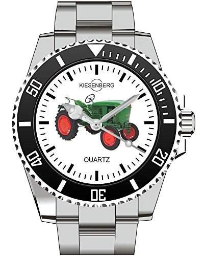 Trecker Traktor Schlepper Modell Geschenk Geschenkidee Kiesenberg Uhr 1613