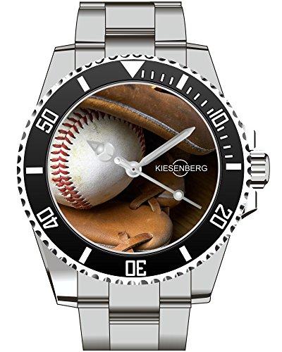 Baseball Baseball Handschuh Schlaeger Kiesenberg Uhr 1995