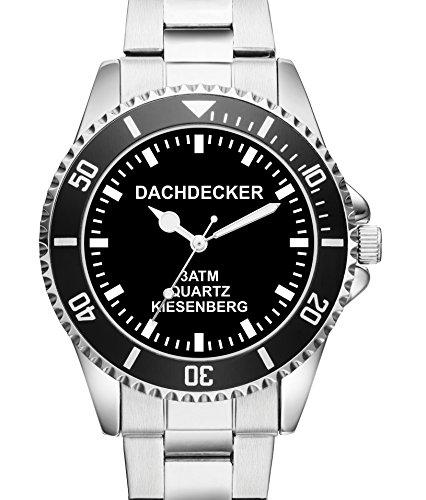 Dachdecker KIESENBERG Uhr Top Geschenk Schoene Geschenkidee 2420