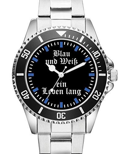 Damen Uhr Blau und Weiss Gelsenkirchen Top Geschenk Schoene Geschenkidee 2245