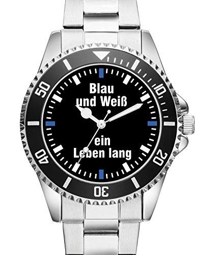 Damen Uhr Blau und Weiss ein Leben lang KIESENBERG Uhr 2556