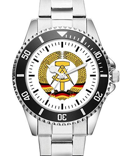 Damen Uhr DDR Abzeichen Wappen Motiv Uhr Armbanduhr 1171