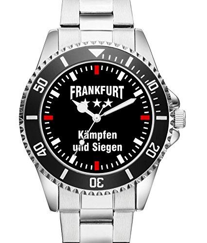 Damen Uhr Frankfurt Kaempfen und Siegen KIESENBERG Uhr 2283