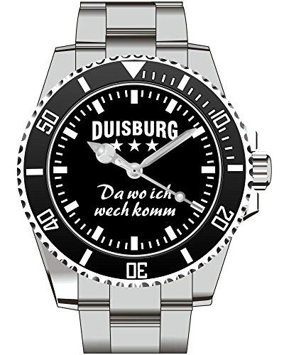 Duisburg Da wo ich wech komm KIESENBERG Herren Uhr 2481