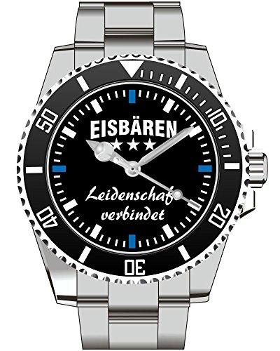 Eisbaeren KIESENBERG Fan Uhr 2435