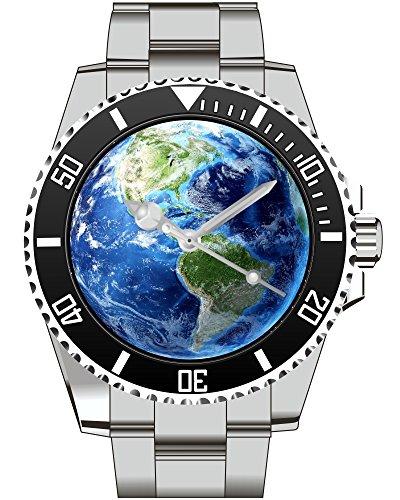 Erde Earth Weltkugel All Globus Universum Kiesenberg Uhr 1969
