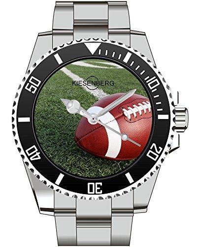 Football USA American Armbanduhr Kiesenberg Uhr 1965