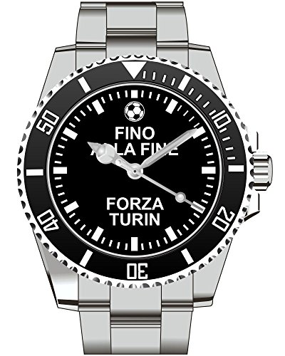 Forza Turin Geschenk fuer Fans der Top Geschenkartikel Kiesenberg Uhr 2237