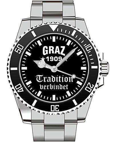 Graz Tradition verbindet Fan Supporter Herren Armbanduhr 2395