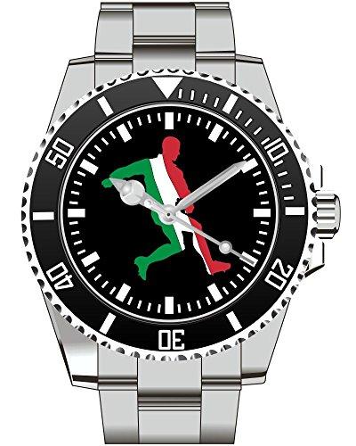 Italien Italy Fussball Uhr Top Geschenk EM WM Schoene Geschenkidee 2238