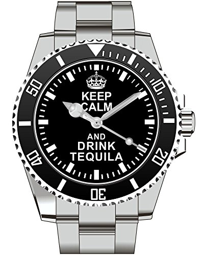Keep calm and drink TEQUILA Kiesenberg Uhr 2044