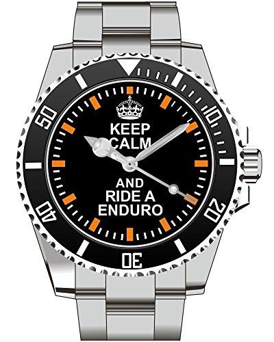 Keep calm and ride a ENDURO Uhr 2117