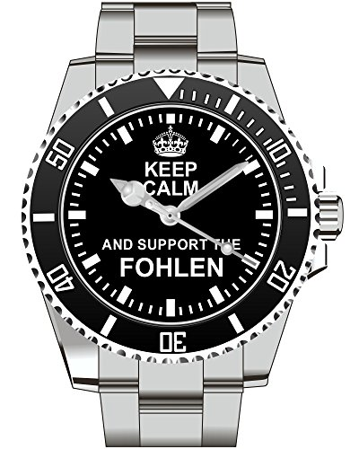 Keep calm and support the Fohlen Uhr 2125