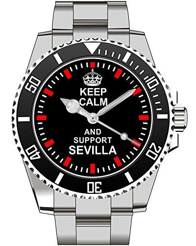 Keep calm and support SEVILLA Kiesenberg Uhr 1944