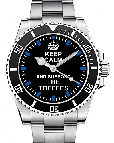Keep calm and support THE TOFFEES Supporter Uhr 2103
