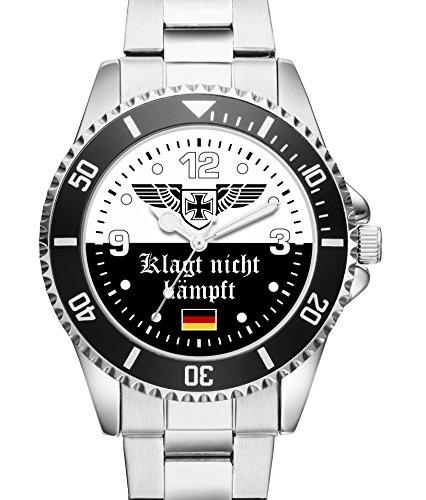 KIESENBERG Geschenk Fanartikel Uhr Klagt nicht kaempft 2504