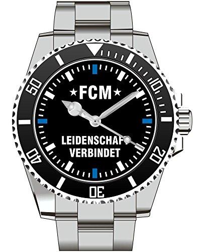 FCM Leidenschaft verbindet Fan Supporter Herren Armbanduhr 2396