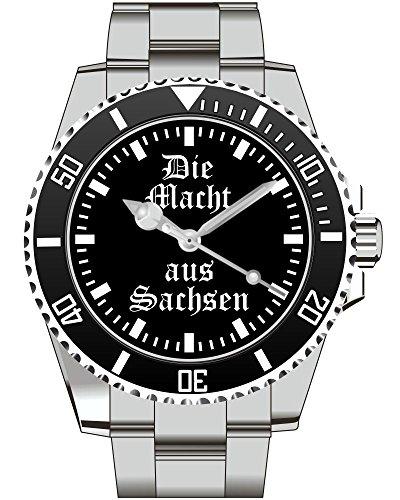 Die Macht aus Sachsen Top Geschenk schoene Geschenkidee Uhr 2271