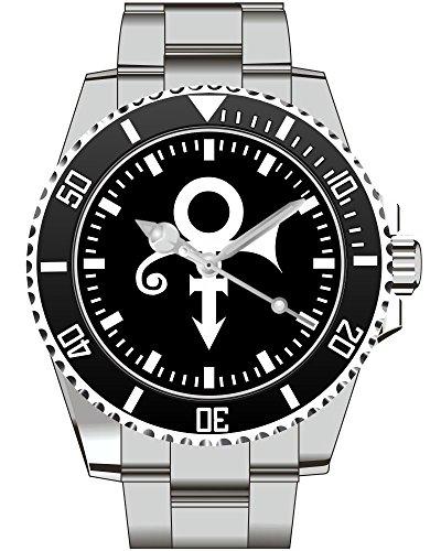 Prince Memorial Symbol Black Emancipation Herren Fan Armbanduhr 2327