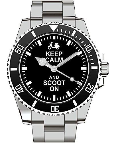 Roller Scooter Geschenk und Geschenartikel Herren Armbanduhr 2265