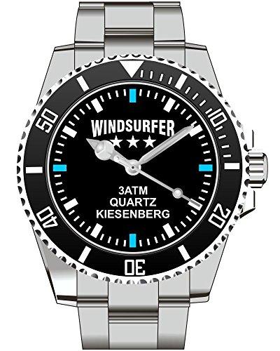 Windsurfer Windsurfen Surfen KIESENBERG Fan Uhr 2479