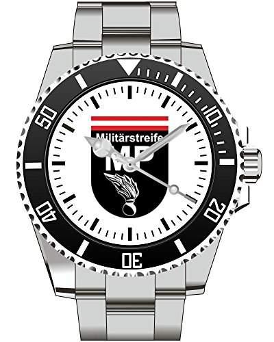 MP Militaerstreife OEsterreichisches Bundesheer Wappen OEsterreich Uhr - Armbanduhr 1058
