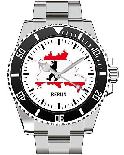 Berlin Stadt Umriss Uhr - Armbanduhr 1096
