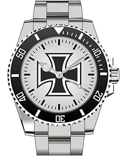 Eisernes Kreuz Deutsches Reich Armbanduhr - Uhr 1137