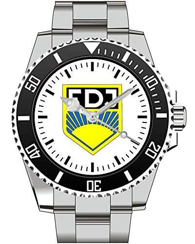 FDJ DDR Abzeichen Wappen Motiv Uhr - Armbanduhr 1170