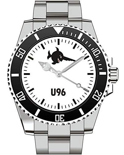 Saegefisch-Kriegsmarine U-Boot U96 Marine Bundeswehr Uhr - Armbanduhr 1188