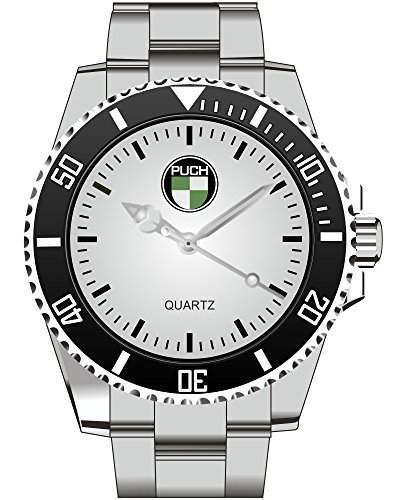 Puch Werke OEsterreich Motiv Uhr - Oldtimer Armbanduhr 1195