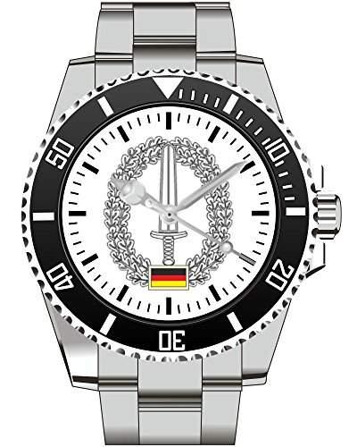 KSK Kommando Spezialkraefte Barettabzeichen Bundeswehr Armbanduhr - Uhr 1212
