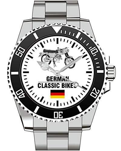 Uhr 1442 - German Classic Bikes - Fuer Zuendapp KS 50 Kreidler Horex Puch Fans