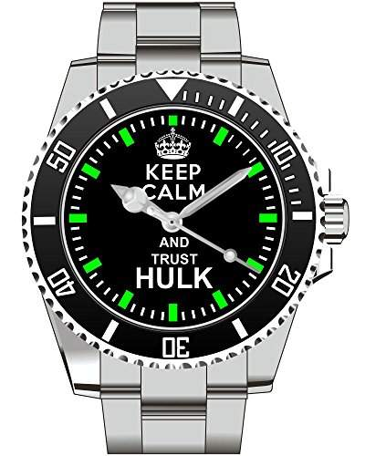 Uhr 1471 - Fuer Hulk Marvel Comic Supermann Hero Fans