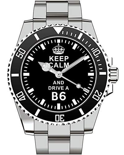 Keep calm and drive a B6 - Uhr 1649