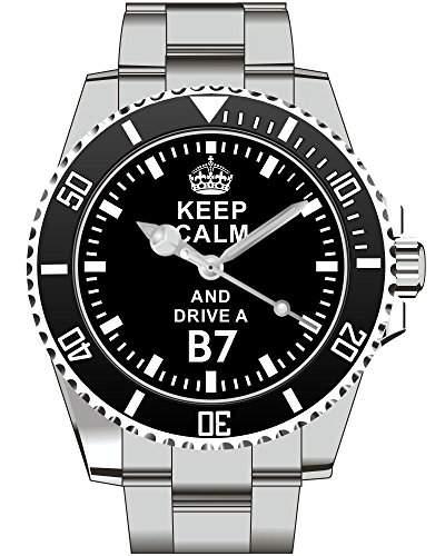 Keep calm and drive a B7 - Uhr 1650