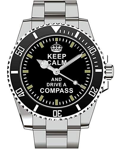 Keep calm and drive a Compass - Uhr 1654
