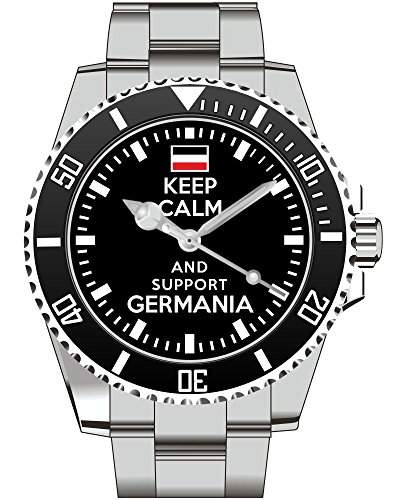 Keep calm and support Germania Deutsches Reich Deutschland - Uhr 1658