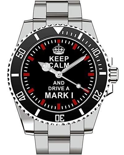 Keep calm and drive a Mark 1 - Uhr 1676