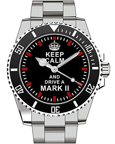 Keep calm and drive a Mark 2 - Uhr 1677