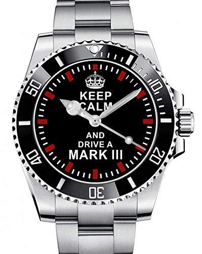 Keep calm and drive a Mark 3 - Uhr 1678